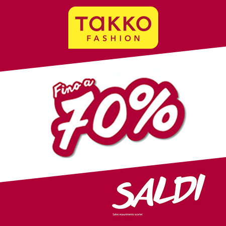 SALDI TAKKO FASHION