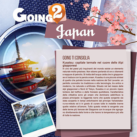 GOING TO JAPAN