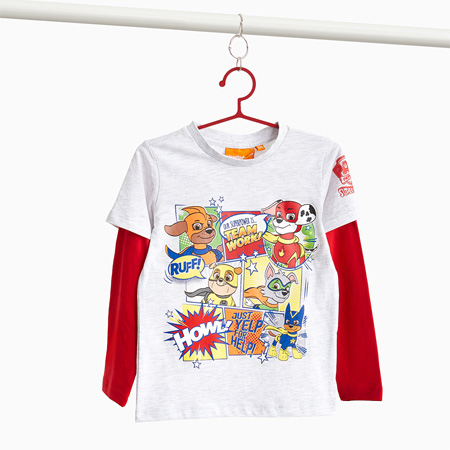 T-SHIRT SUPER PUP HEROES