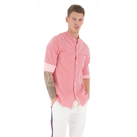 CAMICIA CON RIGHINE SOTTILI
