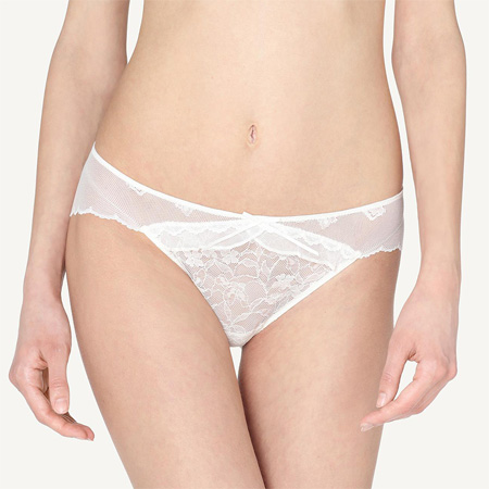 SLIP IN TULLE E PIZZO SWEET BRIDE